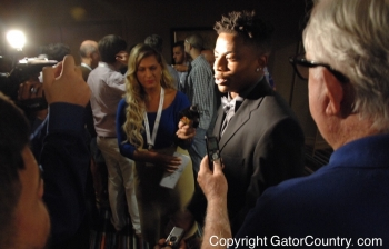 SEC Media Days 2015 Video: Vernon Hargreaves Press Conference