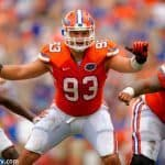 Florida Gators defensive tackle Taven Bryan makes a play during the Orange and Blue in 2015- 1280x852- Florida Gators Football