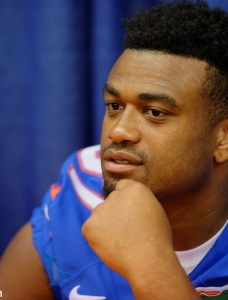 Gators' fresh start beneficial for Caleb Brantley