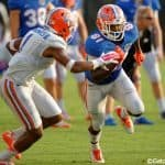 Florida Gators cornerback Vernon Hargreaves covers receievr Antonio Callaway - Florida Gators football- 1280x852