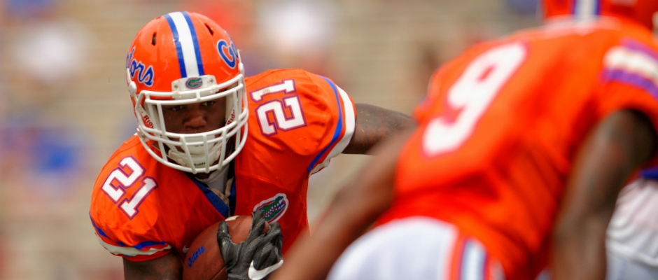 Can Kelvin Taylor be the Florida Gators feature back?