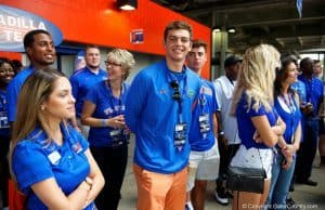 Florida Gators 2017 quarterback commit Jake Allen at the Tennessee game- 1280x855