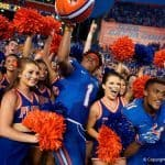 Florida Gators players celebrate their win over Tennessee- 1280x855