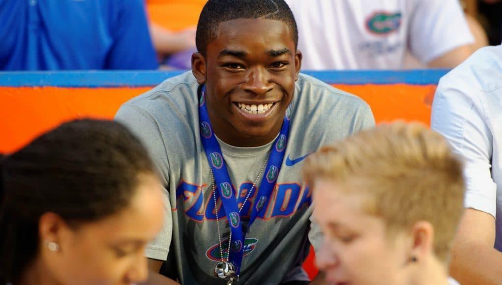 Florida Gators recruit Sam Bruce at the New Mexico State game- Florida Gators Recruiting- 1280x851