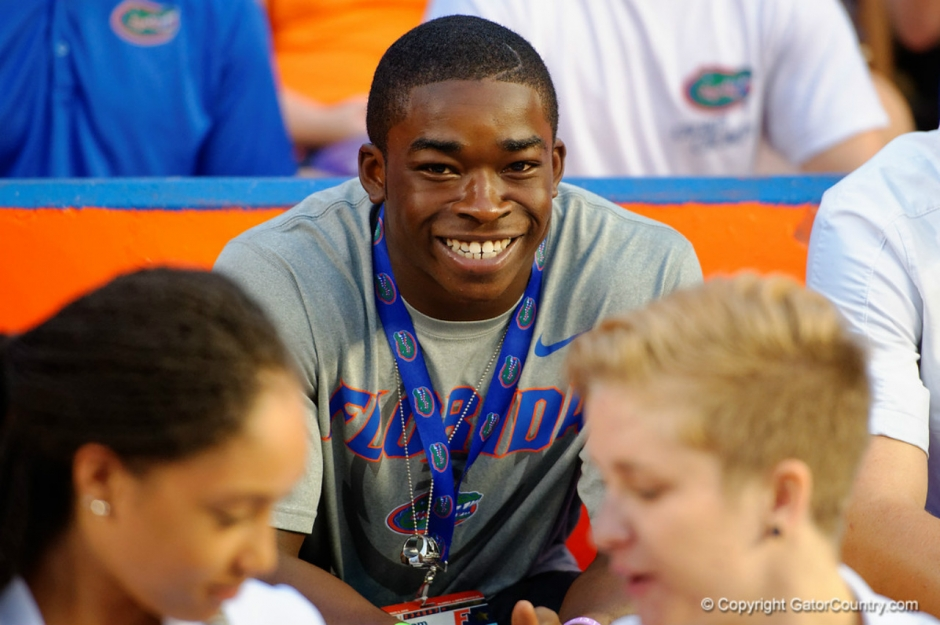 Florida Gators recruit Sam Bruce at the New Mexico State game- Florida Gators Recruiting- 1280x851