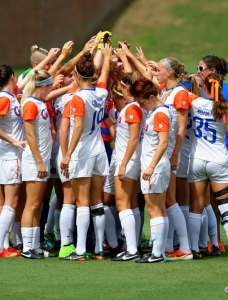 Florida Gators soccer defeated Ole Miss 4-1
