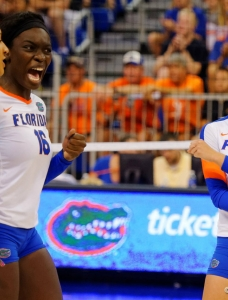 Florida Gators volleyball sweeps Tennessee