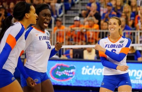 Florida Gators volleyball sweeps LIU on Senior Day