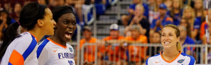 Florida Gators volleyball sweeps LIU on Senior Day