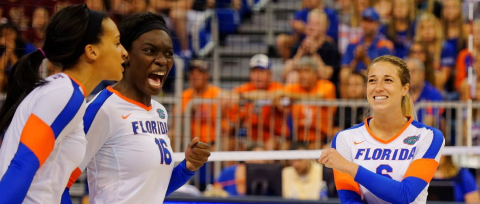 Florida Gators volleyball sweeps Ole Miss