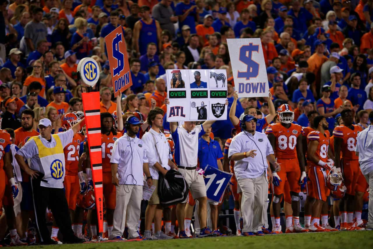 save off fe097 cd206 PD's Postulations: Thoughts on the Florida Gators – UK Game ...
