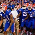 Jalen Tabor and the Florida Gators football team ready to enter the Swamp against New Mexico State- 1280x855