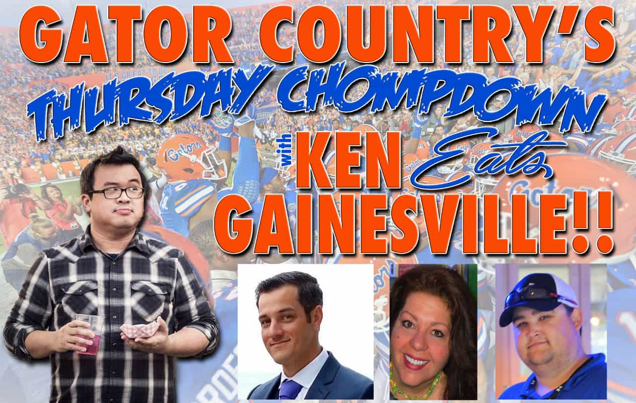 Ken East Gainesville on the Gator Country Chompdown podcast