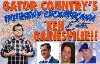 Thursday Chompdown with Ken Eats Gainesville
