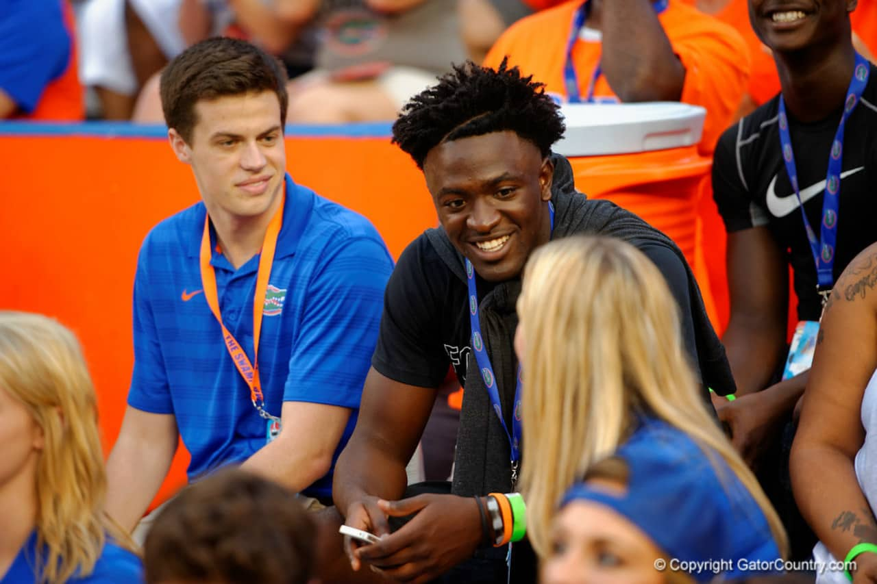 Nate Craig-Myers at the Florida Gators game against NMSU- Florida Gators Recruiting- 1280x853