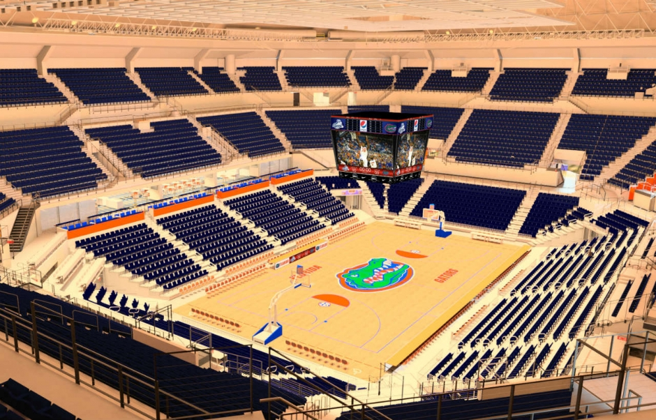 Florida signs contract to renovated the O'Connell Center