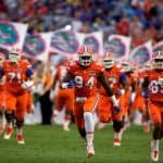 The Florida Gators football team takes the field against ECU in 2015- 1280x855