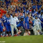 University of Florida freshman receiver Antonio Callaway scores a go-ahead 63-yard touchdown against Tennessee- Florida Gators Football- 1280x852
