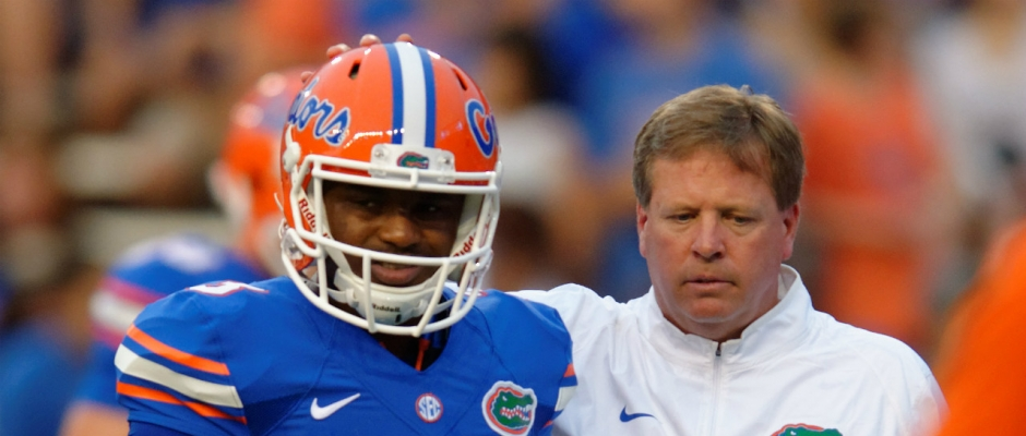 For Florida Gators it's Treon time in Death Valley