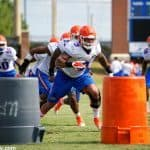 University of Florida linebacker Antonio Morrison returns to practice in the fall- Florida Gators football- 1280x854