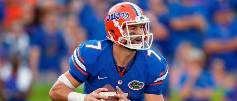 QB Will Grier to Transfer from the Florida Gators
