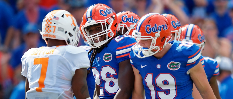 Florida Gators vs. Tennessee Volunteers photo gallery