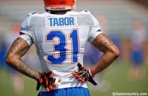 University of Florida sophomore cornerback Jalen Tabor switched from number five to 31 in the offseason- Florida Gators Football- 1280x852