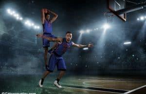University of Florida sophomores Devin Robinson and Chris Chiozza pose during media day- Florida Gators basketball- 1280x853