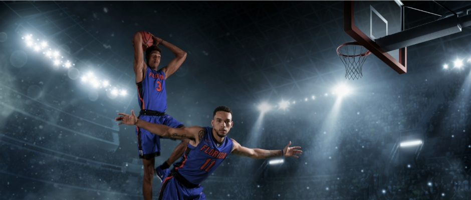 Dynamic duo of the Florida Gators basketball team