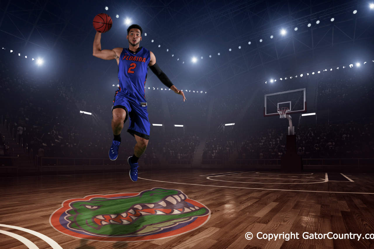 Florida Gators Basketball Media Day Portraits-Florida Gators guard Brandone Francis-Ramirez