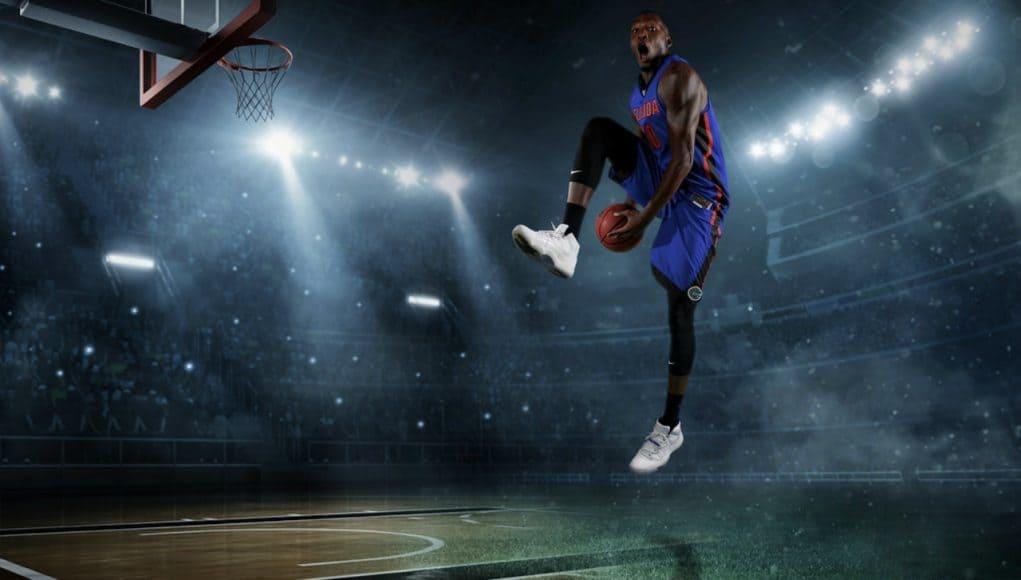 Florida Gators basketball forward Dorian Finney-Smith at Florida media days- 1280x854