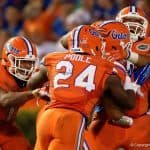 Florida Gators cornerback Brian Poole celebrates a play over Ole Miss- 1280x853