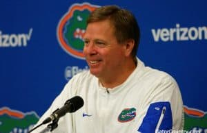 Florida Gators head coach Jim McElwain after beating Georgia- 1280x854- Florida Gators recruiting
