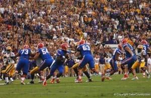 Florida Gators quarterback Treon Harris against LSU 2015- 1280x800