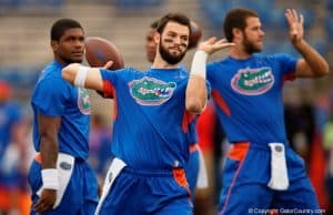 Florida Gators quarterback Will Grier warms up against Ole Miss- 1280x 853