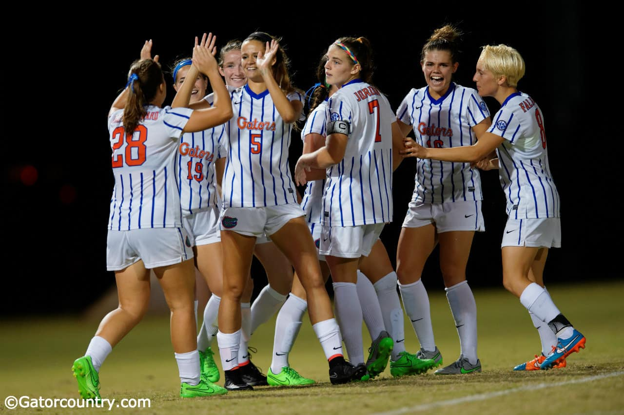 The-florida-gators-soccer-team-celebrate-one-of-their-four-goals-in-a-shutout-win-over-arkansas-on-senior-night-florida-gators-soccer-1280x852
