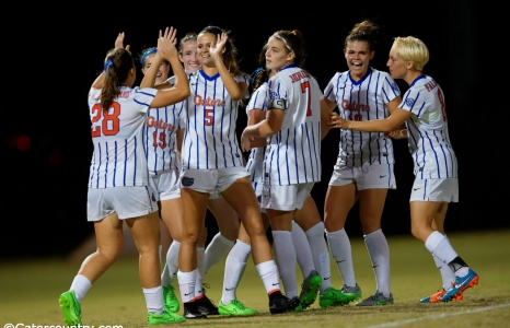 Florida Gators soccer advances to second round