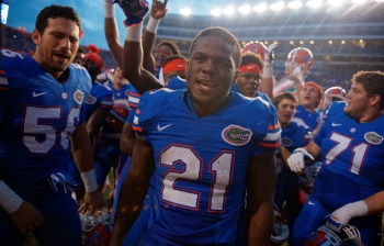 Kelvin Taylor blazing his own path at Florida