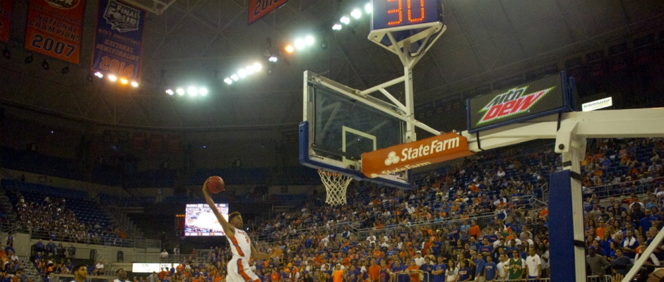 At the Buzzer: Florida Gators Basketball Defeats Richmond