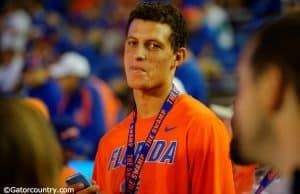 Feleipe Franks takes in the Florida Gators game against Florida State at Ben Hill Griffin Stadium- Florida Gators football- 1280x852