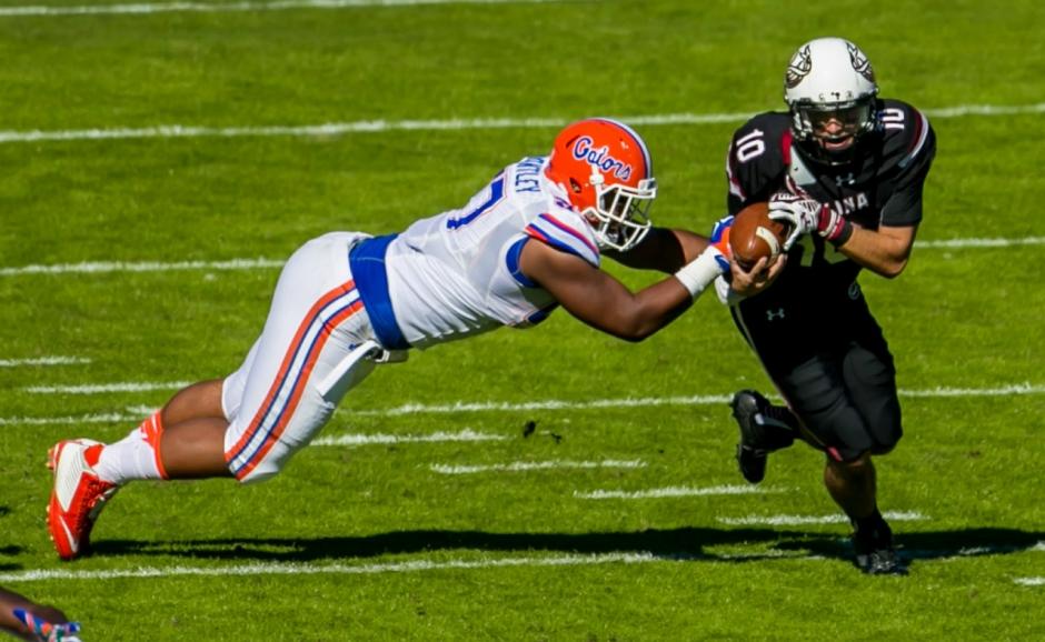 Florida Gators defensive tackle Caleb Brantley against South Carolina- 1280x787