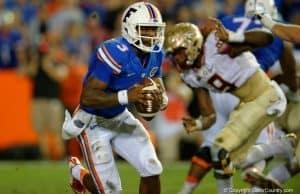 Florida Gators quarterback Treon Harris against FSU-1280x853