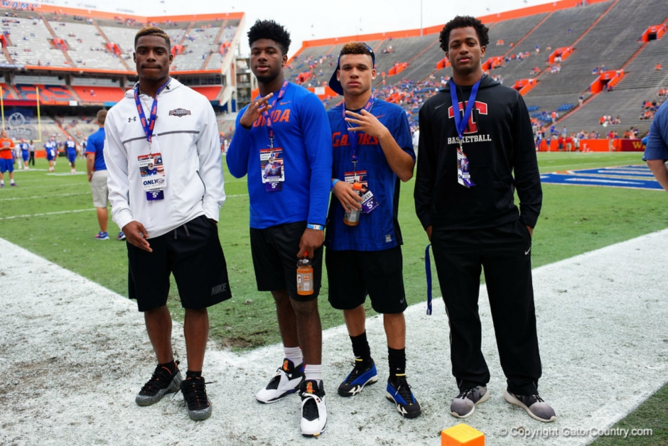 Lamical Perine and Chauncey Gardner at the FAU game- Florida Gators recruiting- 1280x855