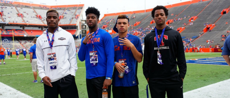 Florida Gators recruiting visitor's list for Florida State