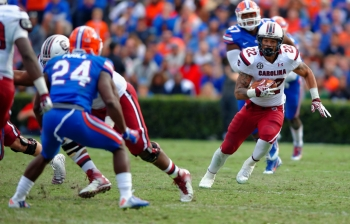 Wilds, Gamecocks will test Florida Gators defensive line