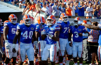 Florida Gators football prediction podcast joined by Max Starks