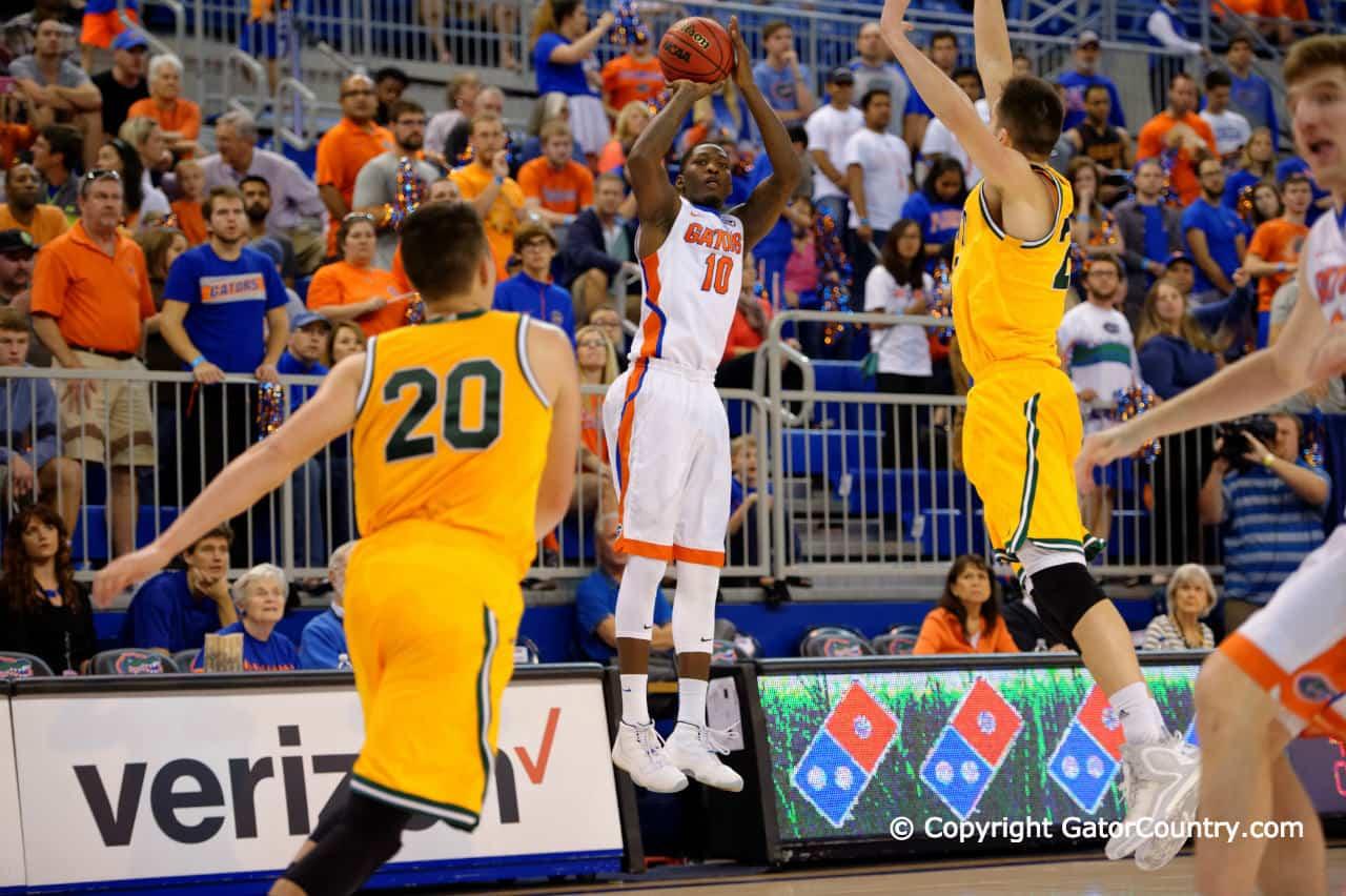 University of Florida Gators Basketball Vermont Catamounts forward Dorian Finney Smith
