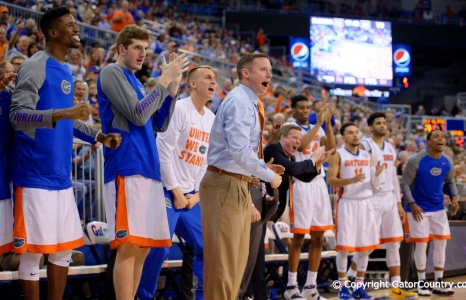 Florida Gators Basketball Prepares for No.1 Michigan State