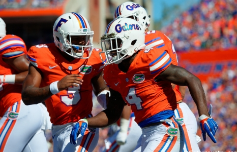 Five list of five for the Florida Gators vs. South Carolina