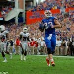 University of Florida tight end Jake McGee scores a touchdown in overtime to help the Florida Gators beat FAU- Florida Gators football- 1280x852
